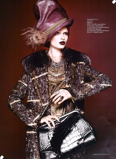 Archivio Missoni - Editorial page from L'Officiel, China