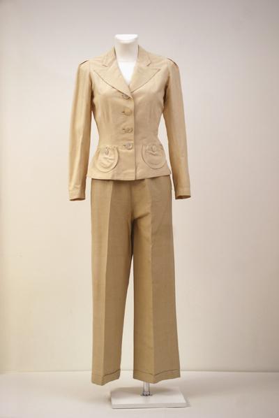 Ensemble (jacket, trousers)