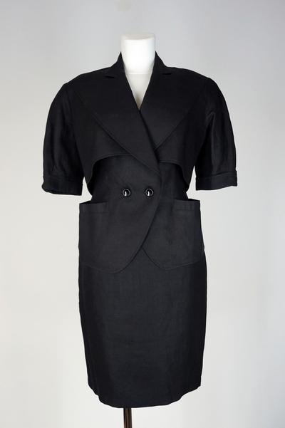 Ensemble (Jacket waistcoat, skirt)