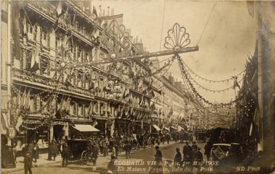 Postcard, Rue de la Paix (PAQUIN)