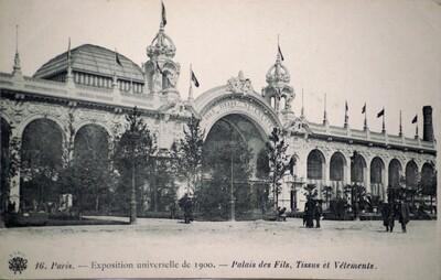 Postcard, Exposition universelle de 1900