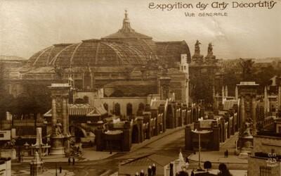Postcard, Exposition des Arts Décoratifs