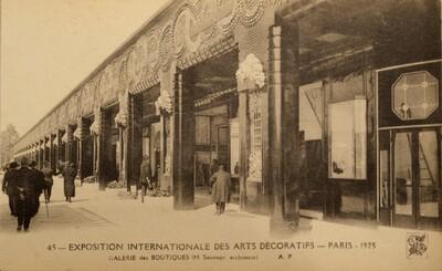 Postcard, Exposition Internationale des Arts Décoratifs (45)