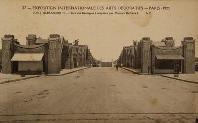 Postcard, Exposition Internationale des Arts Décoratifs (27)