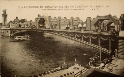 Postcard, Exposition Internationale des Arts Décoratifs (51)