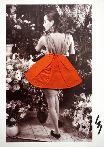 Invitation for a haute couture show - Lecoanet & Hemant