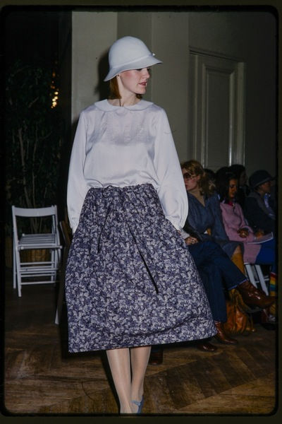 Fashion show Cacharel autumn/winter 1977