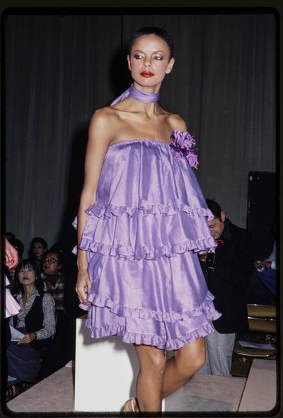 Fashion show Jun Ashida spring/summer 1978
