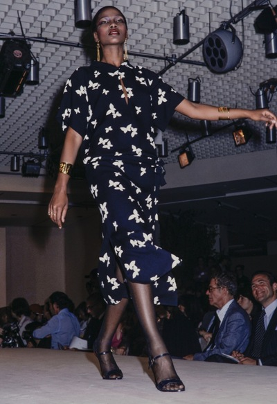 Fashion show  Yves St. Laurent  spring/summer 1978