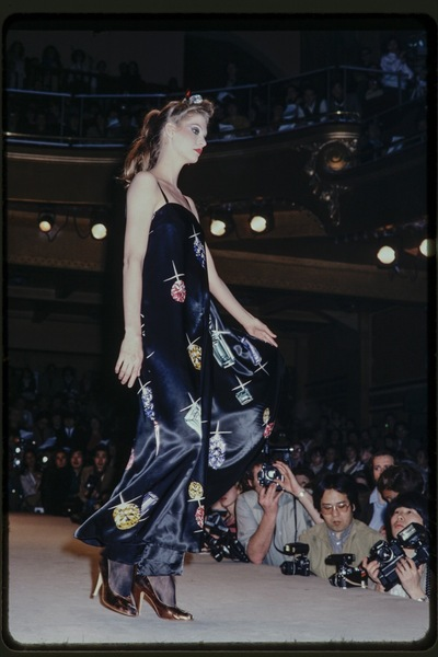 Fashion show J.C. de Luca winter 1978/79