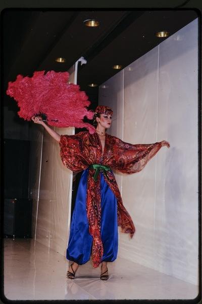 Fashion show Kimijima winter 1978/79