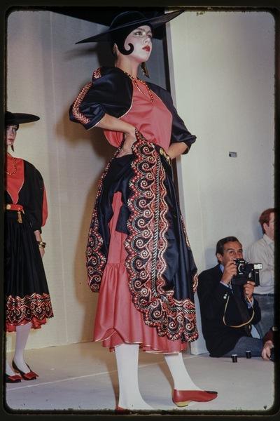 Fashion show Claude Montana