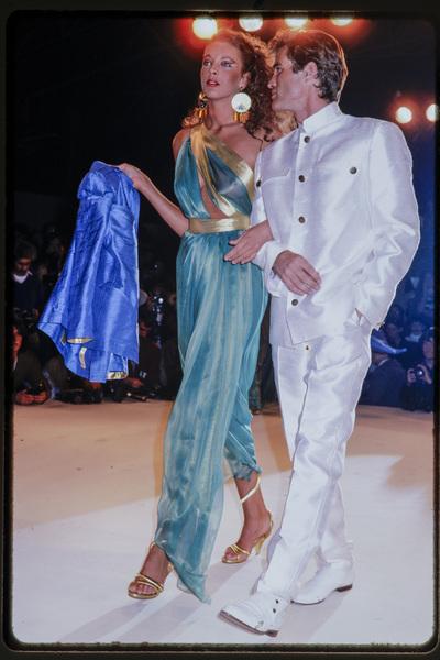 Fashion show Thierry Mugler
