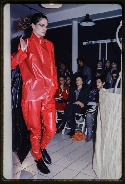 Fashion show Yohji Yamamoto