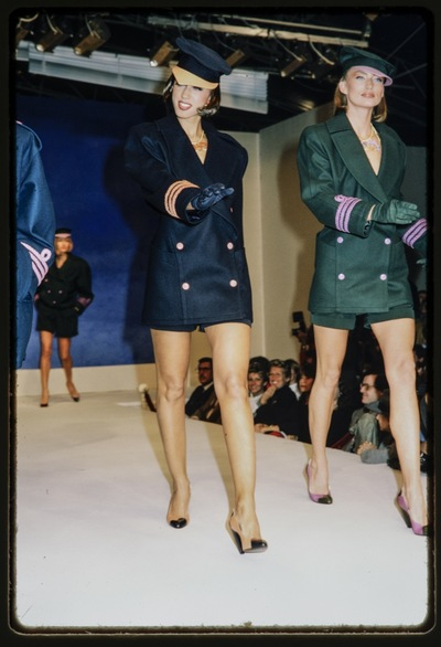 Fashion show Thierry Mugler