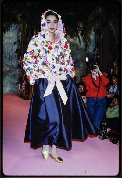Fashion show Christian Lacroix