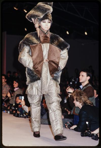Fashion show Issey Miyake