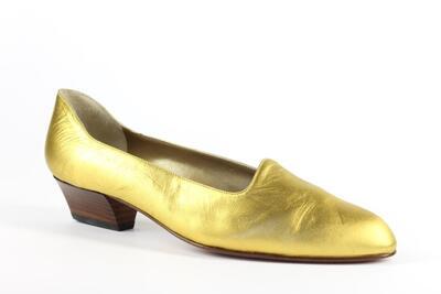 raso laminato oro/gold laminated satin