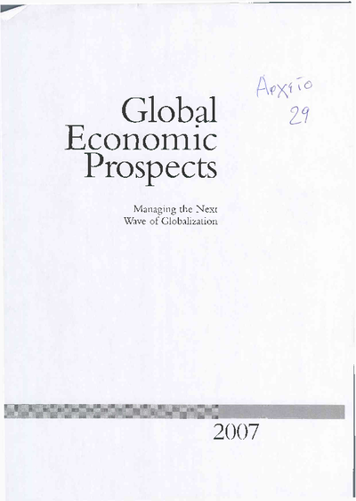 Global economic prospects: Managing the next wave of globalization