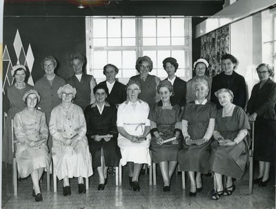 Female recipients of long service awards from Jacob's Biscuit Factory
