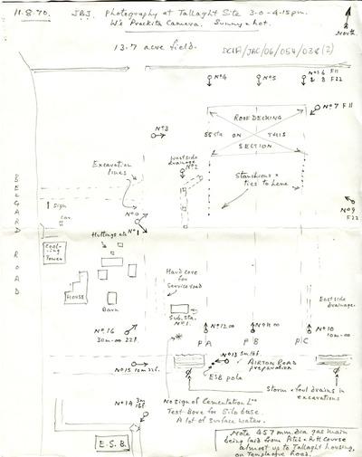 Map of Tallaght premises
