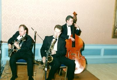 Band at the Jacob's Awards