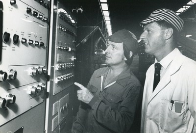 Workers at the Tallaght plant