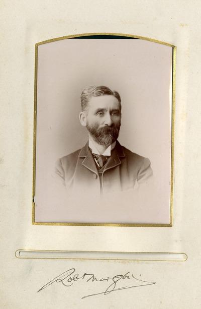 Portrait photograph of [Robert Morgan]