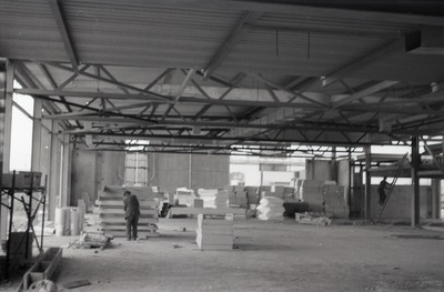 Irish Biscuits factory while under construction