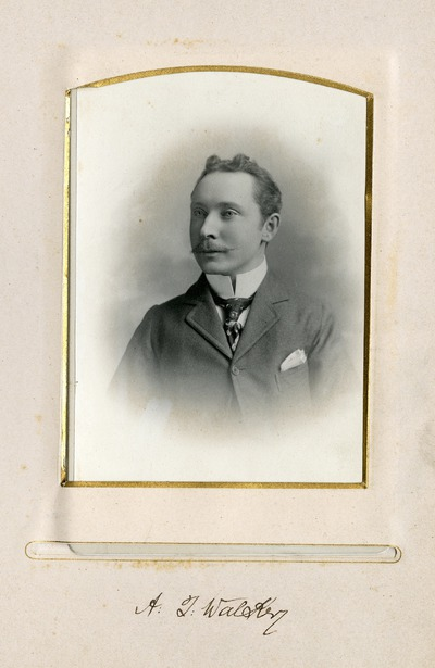 Portrait photograph of A. J. [Walskey]