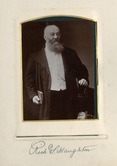 Portrait photograph of Rich Haughton