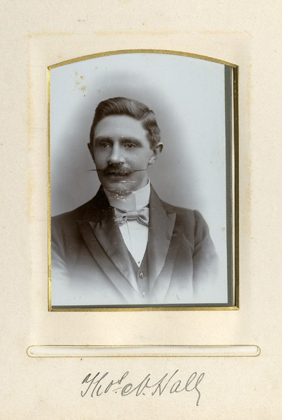 Portrait photograph of Jacob's worker [Hios. N. Nall]