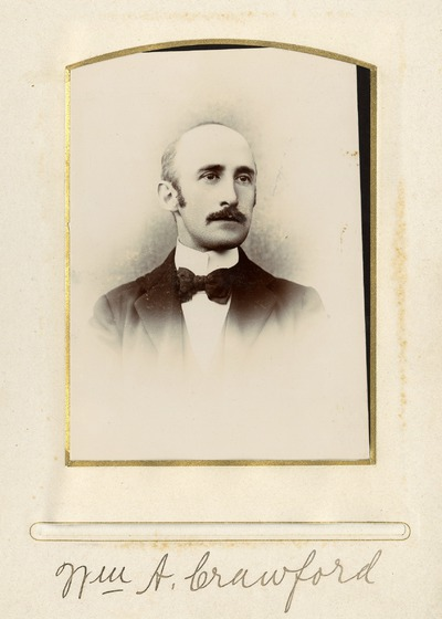 Portrait photograph of [Nm] A. Crawford