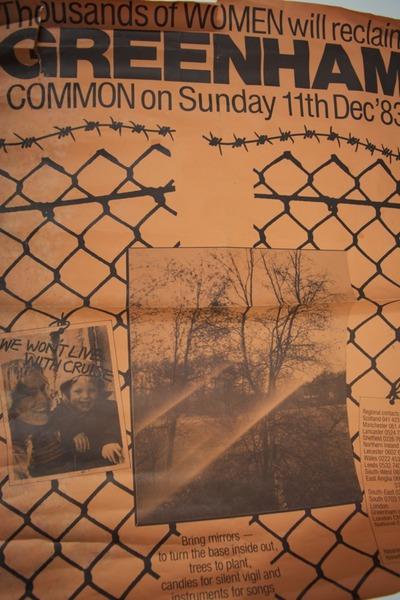 Greenham Common 1983 Poster