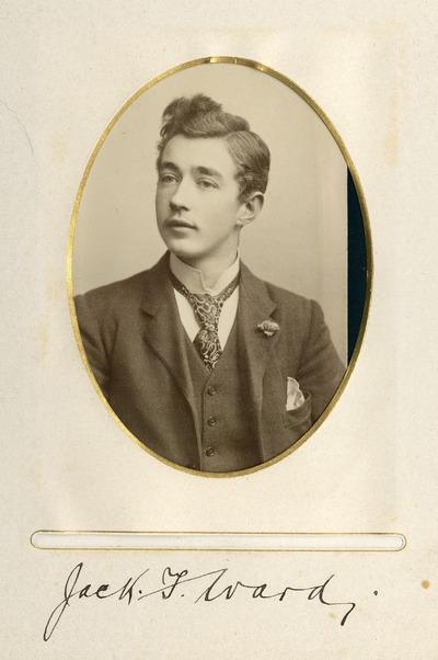 Portrait photograph of Jack T. Ward