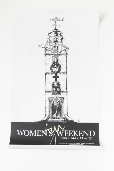 1988 Cork Women's Fun Weekend Poster
