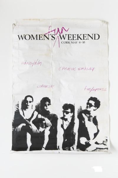 1987 Women's Fun Weekend Poster
