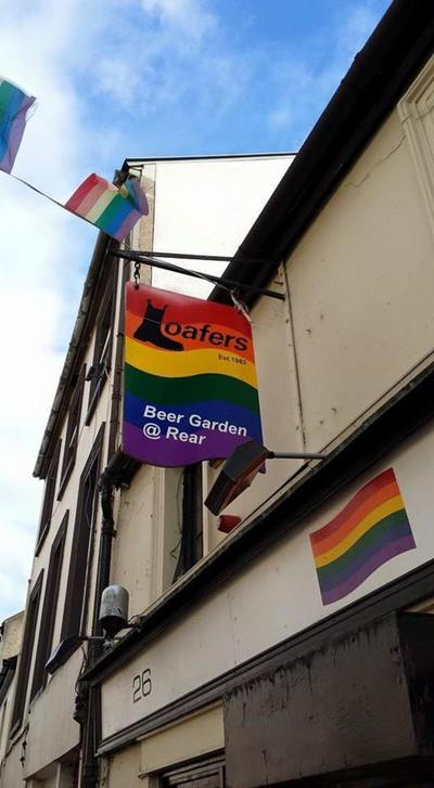 Loafers Bar Sign