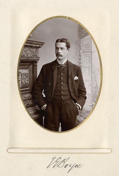Portrait photograph of [T. G. Boyce]
