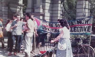 Cork Gay Collective at Dublin Pride 1983