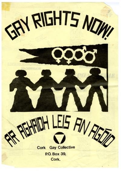 1981 Cork Gay Collective Manifesto / Poster