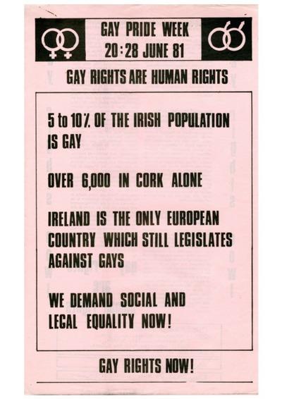 Cork Pride 1981