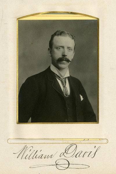 Portrait photograph of William Davis