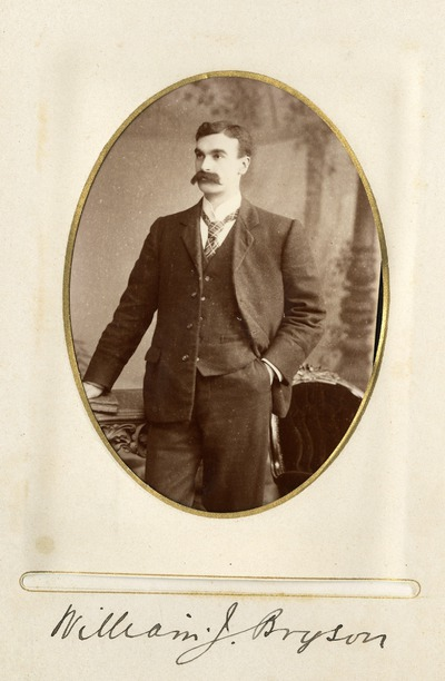 Portrait photograph of William J. Bryson