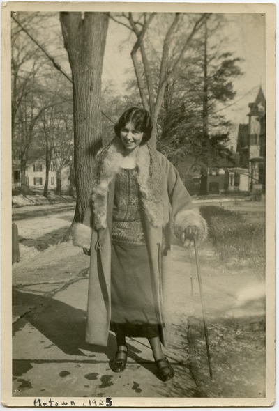 Photograph of Mary C. Bromage (1925)