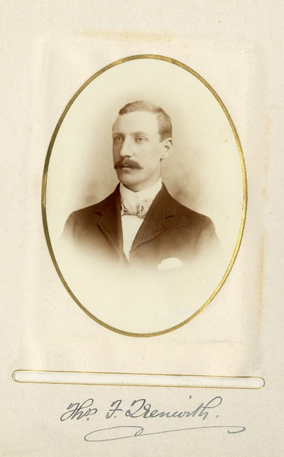 Portrait photograph of Thomas F. [Grenwith]