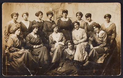 Photograph Munitions workers Inchicore