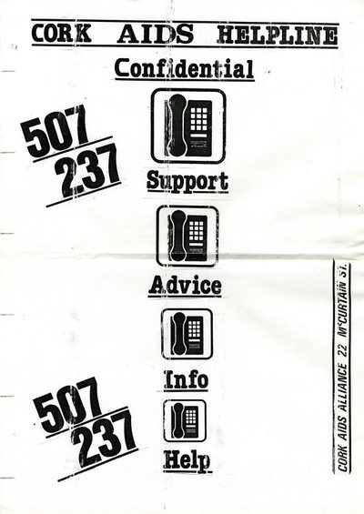 Cork AIDS Helpline Poster