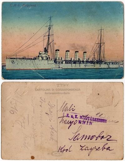 S.M.S. Helgoland: razglednica