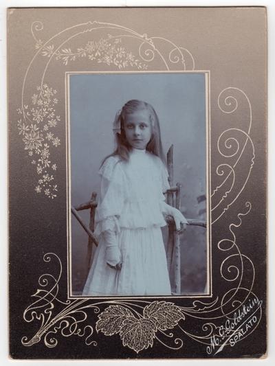 Nepoznata djevojčica: fotografija